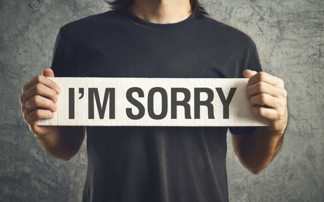 """Stop Saying """"Sorry"""""""