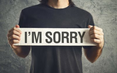 "Stop Saying ""Sorry"""